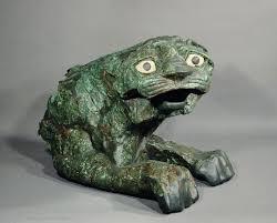 jade lion statue statue of a lion louvre museum