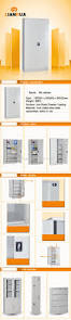 Home Decorators File Cabinet China Tall Thin 2 Swing Door Safe Lockable Archive File Storage