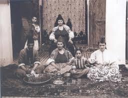 famille juive marrakech photo prise par gabriel veyre en 1901