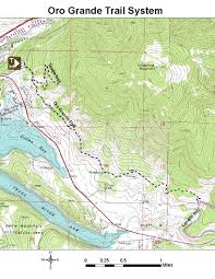 Colorado Elevation Map by Oric Colorado Summit County Region Day Hiking Trails Index Page
