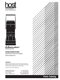 host liberator parts catalog electrical connector