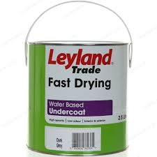 leyland trade fast drying water based undercoat 2 5l grey