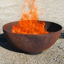 Firepit Bowl Luxury Pit Steel Bowl Create Warmth And Ambiance With A