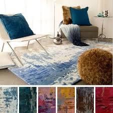 3 X 5 Area Rug by Nuloom Modern Abstract Vintage Blue Rug 4 U0027 X 6 U0027 Free Shipping