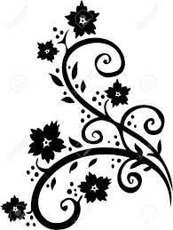 Chinese Design by Chinese Floral Design Vinyl Ready Vector Image Royalty Free