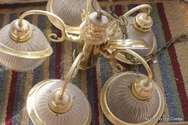 Spray Painting Brass Light Fixtures How To Spray Paint Your Light Fixtures The Country Chic Cottage
