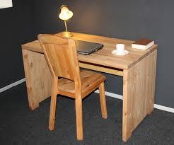 Holz Schreibtisch Massivholz Schreibtisch Kiefer Gelaugt Geölt Computertisch Kinder