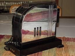 1934 handyhot art deco toaster model aeub chicago electric