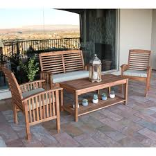 Wood Patio Dining Table by Best Acacia Wood Outdoor Furniture For 2017 Teak Patio Furniture