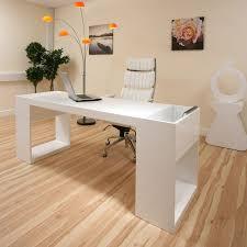 White High Gloss Office Desk Modern Designer Large High Gloss White Dining Table Glass