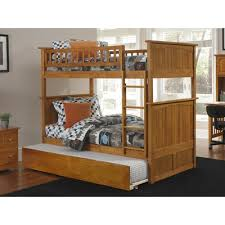 Harriet Bee Abbie Full Over Full Bunk Bed With Trundle Wayfair - Full over full bunk bed with trundle