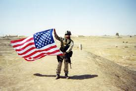 Soldier With Flag Photos