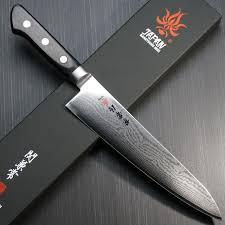 Obsidian Kitchen Knives Shirogami Deba Kanestune Japanese Chef Knives Chefslocker
