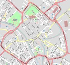 road map of york york wikitravel