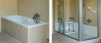 doccia facile sostituire vasca da bagno con doccia di tecnobad bcasa
