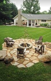 Pretty Backyards Simple Diy Fire Pit In Your Backyard Diy Fire Pit Yards And