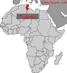 tunisia on africa map tunisia gif