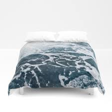 Ocean Duvet Cover Waves Duvet Covers Society6