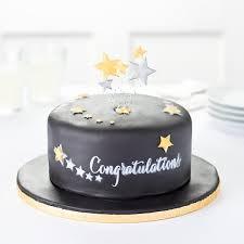 easy entertaining stars congratulations chalk board cake tesco