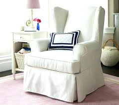 white wing chair slipcover wing chair slipcover wing back chair covers cool wing chairs