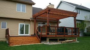 Outdoor Living Space Plans by Great Pergola Built With Ozco U0027s Line Of Ornamental Wood Ties