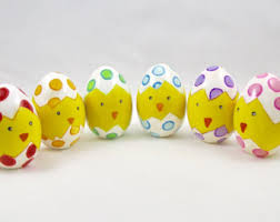 painted easter eggs painted easter eggs etsy