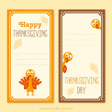 happy thanksgiving banners template vector free