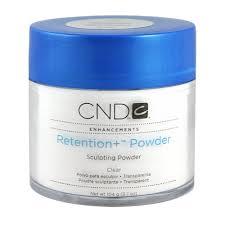 Cnd 181 Cnd Enhancements Retention Plus Powder Clear 104 G Amazon Co Uk
