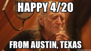 Nelson Meme - happy 4 20 from austin texas willie nelson smoking weed meme