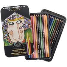 prismacolor pencils prismacolor premier soft colored pencil set of 24 assorted
