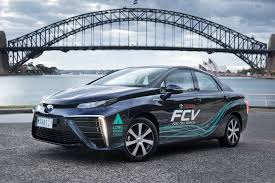 hydrogen fuel cell car toyota 2017 toyota mirai quick review