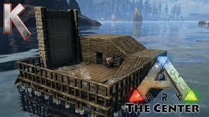 epic boathouse build pooptopia season2 e4 ark survival