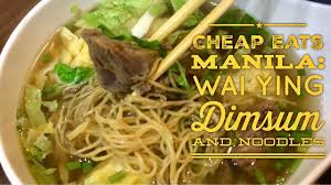 The Absolute Best Chinese Food In Nyc U0027s Chinatown Cheap Eats Manila Wai Ying Dimsum Taft Avenue With Loop