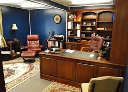 Wood Office Furniture by Executive Home Office Furniture With Wooden Office Desk And