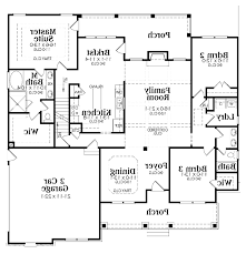 angled media room on front craftsman style house plan 3 beds 2 5
