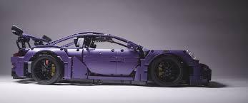 technic porsche 911 gt3 rs ultraviolet blue technic porsche 911 gt3 rs finally happens as