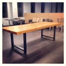 Stainless Steel Dining Table Industrial Steel Table U2013 Littlelakebaseball Com