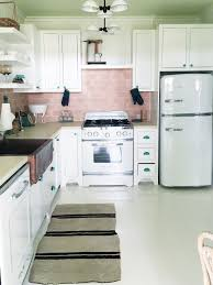 Retro Kitchen Design Tile Retro Kitchen Tile Backsplash Home Design Popular Modern To