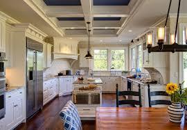 kitchen in spanish kitchen spanish style kitchen idea with modern appliance and blue