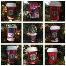 personalized starbucks frap tree ornament
