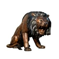 mountain lion statue bronze statues custom statues fountains metropolitan