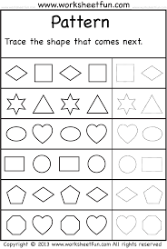pattern math worksheets preschool pattern what comes next wfun 2 numbers pinterest patterns