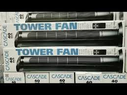 sunter tower fan costco costco cascade tower fan 40 inch 29 ruclip