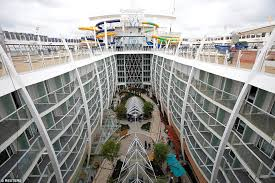 world u0027s biggest cruise ship harmony of the seas is handed over to