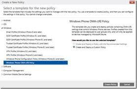 block un enrollment windows phone devices by microsoft intune