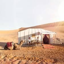 desert tent luxury desert cs cing in morocco s merzouga