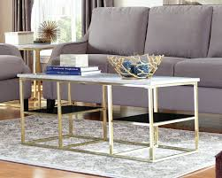 choosing and maximizing brass coffee table