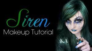 evil halloween makeup siren evil mermaid makeup tutorial youtube