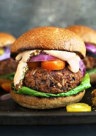 cuisine burger grillable veggie burger minimalist baker recipes