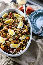 gluten free salad with sweet dressing